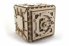 UGEARS Make Your Own Wooden Safe - Woodworking Projects for Kids