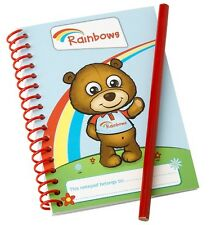 RAINBOW NOTE BOOK AND PENCIL RAINBOW UNIFORM OFFICIAL NEW