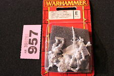 Games Workshop Warhammer Fantasy Empire Greatswords Command 3 Metal Figures New