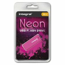 Integral 4GB Neon pendrive USB in Rosa. Un ACCESSORI