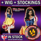 FANCY DRESS COSTUME # FEVER SNOW WHITE FAIRYTALE OUTFIT