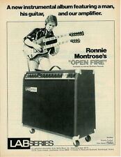 1978 RONNIE MONTROSE FOR THE LAB SERIES AMP AD