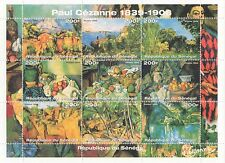 PAUL CEZANNE 1839-1906 POST-IMPRESSIONISM ART 1999 SENEGAL MNH STAMP SHEETLET
