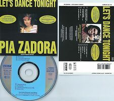 PIA ZADORA-LET'S DANCE TONIGHT-84-GERMANY-INTERCORDTON GmbH CURB INT847.716-CD-M