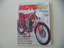 MOTO STORICHE E D'EPOCA 4/1999 LITO 500 CROSS/NORTON DOMIRACER/COTTON CAVALIER