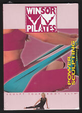 Winsor Pilates Power Sculpting with Resistance DVD 2002 - PAL - NEW