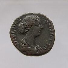 Faustina Junior Bronze Sestertius (Wife of Marcus Aurelius) Reverse: Diana