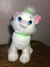 """Rare Adorable Disney Store August Marie Plush Cat from The Aristocats 12"""""""