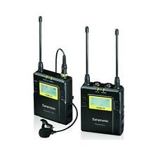 Saramonic RX9+TX9x1 96-Channel UHF Wireless VHF Lavalier Microphone UWMIC10 Up