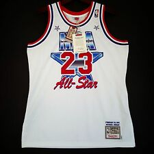 100% Authentic Michael Jordan Mitchell & Ness 91 NBA All Star Jersey Size 44 L