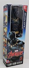 "2017 MARVEL AVENGERS TITAN HERO SERIES BLACK PANTHER POSABLE 12"" ACTION FIGURE"