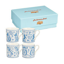 Churchill Fine China Caravan Trail Penzance 4 Piece Espresso Cups Gift Set