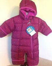 Columbia 3-6M Purple Frosty Freeze Bunting Snowsuit Water Resist MSRP $100 NWT