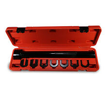 Inner Tie Rod Removal Installation Tool Set Kit Mechanics w/ 7 adapters