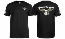 Powell Peralta BONES BRIGADE WINGED RIPPER LOGO Shirt BLACK LARGE