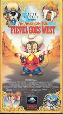 """Don Bluth's """"An American Tail: Fievel Goes West"""" -- VHS -- 1991"""