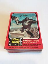 Topps 1976 King Kong Complete Trading Card Set 1-55