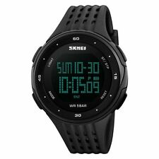 Fashion Men Boy Women Digital Sports Quartz LED DATE Waterproof Army Wrist Watch
