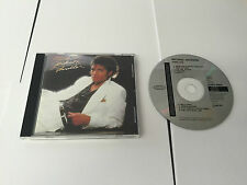 1982 THRILLER CD MICHAEL JACKSON EARLY PRESSING