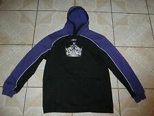 Reebok Los Angeles Kings NHL Hockey Hoodie Pullover Jacket Sewn Logo Junior XL