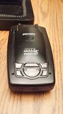 "Escort Passport 9500ix Blue Radar Detector ""With Original Case"""
