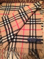 Burberry Cashmere Scarf Gently Used