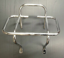 Rear / back carrier rack 1 way in chrome for Vespa PX & LML Star by Cuppini