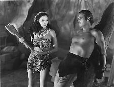 Photo originale Acquanetta Johnny Weissmuller Tarzan and the Leopard Woman