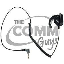 TCG Brand 3.5mm Listen Only Earhook Earpiece Speaker for Shoulder Microphone