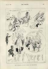 1900 Parisian Cabby Cartoon