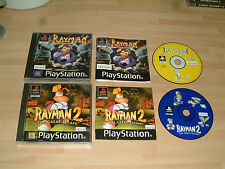 RAYMAN 1 + 2 THE GREAT ESCAPE....PLAYSTATION 1 2 3 PS1 PS2 PS3 GAMES PAL