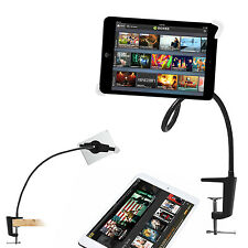 Universal Fashion Flexible Gooseneck Long Arm Tablet Stand 360-degree Rotating
