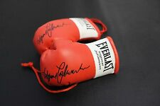 Autographed Mini Boxing Gloves Ingemar Johanson