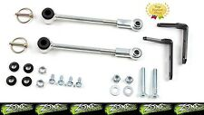 "1987-1995 Jeep Wrangler YJ Zone Front Sway Bar Disconnects fits 3-4.5"" lift kits"