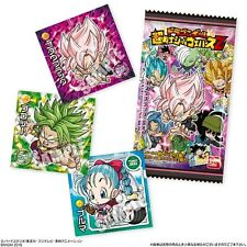 Dragon Ball Super Chou Senshi Sticker Seal Wafer Cookie Candy DBZ Z DBS *IN USA*