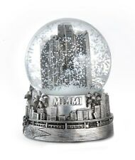 MIAMI FLORIDA SNOWDOME SNOW GLOBE-NEW