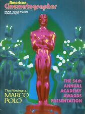 American Cinematographer Magazine May 1982 Filming Of Marco Polo