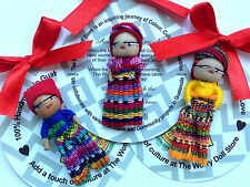 GUATEMALAN WORRY DOLL - FAIR TRADE - SINGLE DOLL