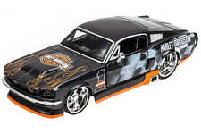 Ford Mustang GT 1967 Harley Davidson Maisto 1:24 Modellauto Standmodell Modell
