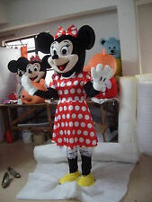 Hot sale Minnie Mouse Mascot Costume Fancy Party Adult Dress Halloween EPE