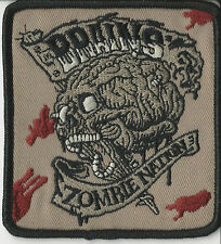 The Brains-Zombie Nation Namebar Patch