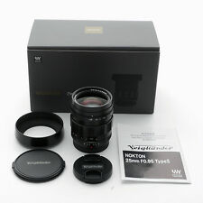 NEW Voigtlander Nokton 25mm F/0.95 lens Type II for M43 4/3 Micro Four Thirds