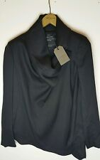 Bnwt AllSaints Black Bayle Monument Jacket UK 8 £228.*ON OFFER!*
