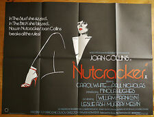 vintage original Nutcracker quad film cinema poster 1983 Joan Collins