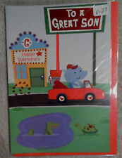 "Valentine Card with Envelope  ""To a Great Son"" (V-27)"