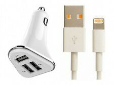 Apple Lightning Cable Certified Car Charger For iPhone 5 SE 5S 6/6 Plus 7/7 Plus