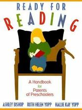 Ready for Reading: A Handbook for Parents of Preschoolers-ExLibrary