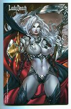 Lady Death Pin Ups #1 Conquest NAUGHTY Edition Variant Paolo Pantalena Cover /69