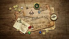 Treasure Map -  LOL - Amazing  - Poster  22 x 34 INCH -  ( Fast Shipping )