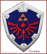 Legend of Zelda Hylian Shield Link Tri Force Hylian Knight Shield Patch Velcro